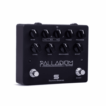 Palladium Gain Stage Drive Pedal - Black