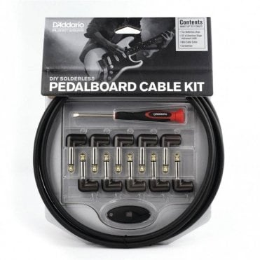 Planet Waves Solderless Custom 10ft Cable Kit with 10 Plugs