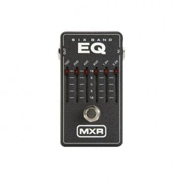 M109 6 Band Graphic EQ Pedal