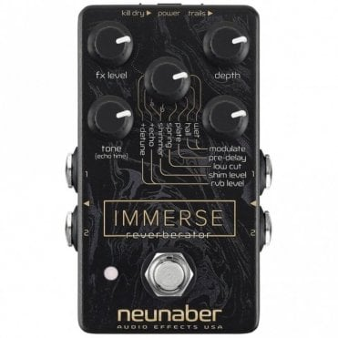 Immerse Reverberator - Reverb Guitar Pedal (Discontinued)