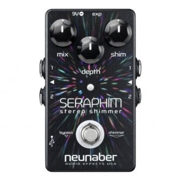 Seraphim v2 Shimmer Reverb Stereo Buffered Bypass Expanse Series Pedal