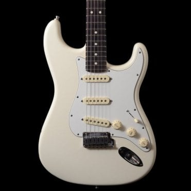 Artist Series Jeff Beck Signature Stratocaster Olympic White, Pre-Owned