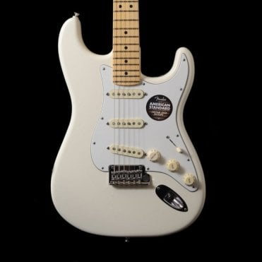 American Standard Stratocaster MN, Olympic White