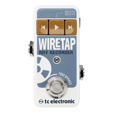 WireTap Riff Recorder Pedal