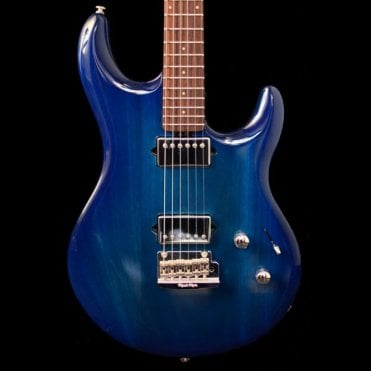 Music Man Luke III HH Neptune Blue Maple, Pre-Owned
