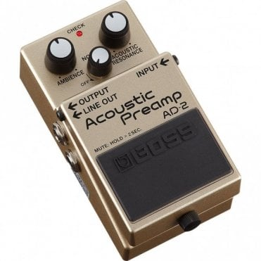 AD-2 Acoustic Preamp Guitar Effects Pedal