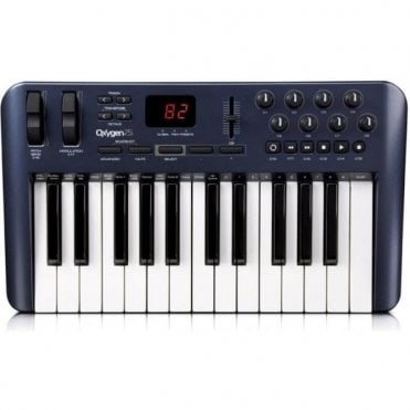 Oxygen 25 MK IV MIDI Controller