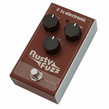 Rusty Fuzz Guitar Effects Pedal