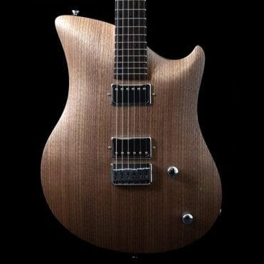 Walnut Jane Aluminium Frame Electric Guitar, Review Model