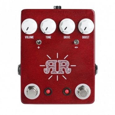 Ruby Red Butch Walker Signature 2-in-1 Overdrive Fuzz & Boost