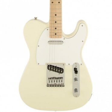 Squier Affinity Series Telecaster w/ Maple Fingerboard (Arctic White)