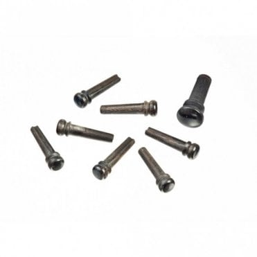 Planet Waves Ebony Bridge Pins with End Pin Set