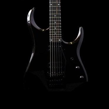 JP16 John Pettruci Signature Electric Guitar, Lava Black