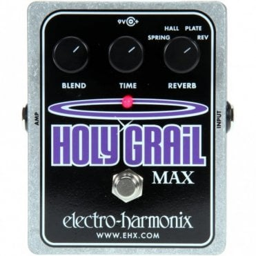 Holy Grail Max Spring, Hall & Plate Reverb Pedal