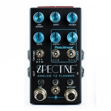 Spectre TZ Through Zero Flanger Pedal
