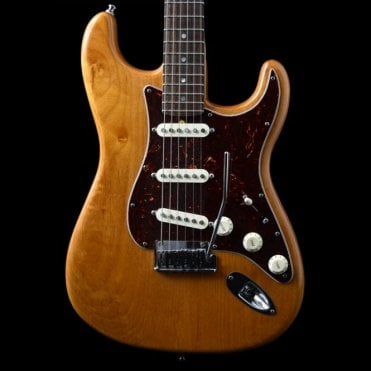Deluxe Stratocaster, Rosewood Fingerboard, Amber, w/ BKP Trilogy Pickups, Pre-Owned
