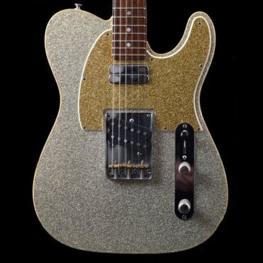 John Jorgenson Double Telecaster, Champagne Sparkle, Pre-Owned