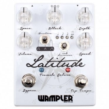 Latitude Deluxe Tremolo Effects Pedal
