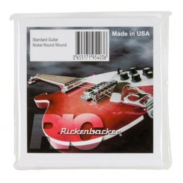 Nickel Roundwound - 6 String (12-54)