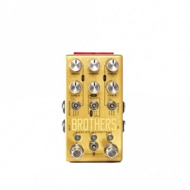 Brothers Parallel Boost/Drive/Fuzz Guitar Pedal