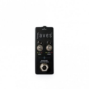 Faves MIDI Selector/Pre-Set Switcher