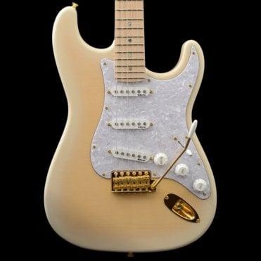 Fender Japan FSR Richie Kotzen Stratocaster See-Through White Burst, Pre-Owned