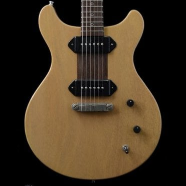 Macon Doublecut Electric Guitar, TV Yellow Prototype