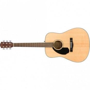 CD-60S Left Handed Dreadnought Acoustic Guitar (Natural)