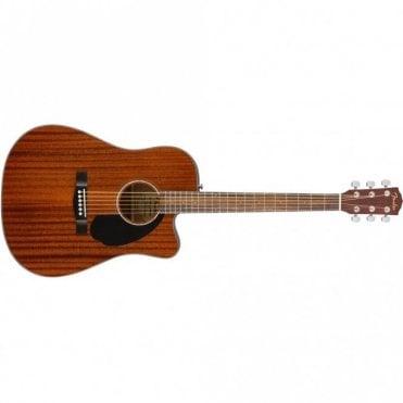 CD-60SCE Dreadnought w/ Cutaway Acoustic Guitar (All Mahogany)