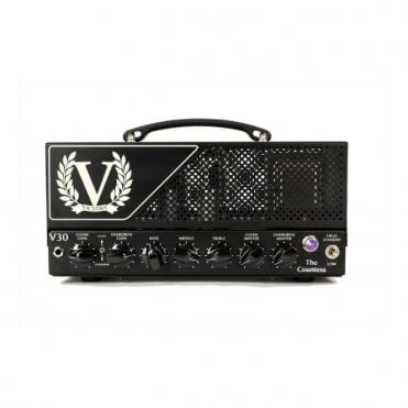 V30 The Countess 6L6 Loaded Valve Amp Head