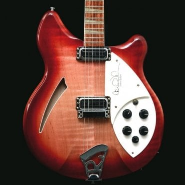 2000 Carl Wilson Signature 360/6 Electric Guitar, FireGlo, #125 of 500, Pre-Owned