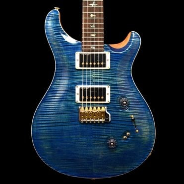 Custom 24/08 Wood Library Limited Edition #236326, River Blue Flame