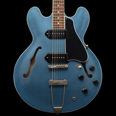 1959 Re-Issue ES330 TD Semi-Hollow Electric Guitar, Pelham Blue