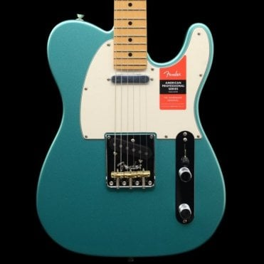 American Professional Telecaster Electric Guitar, Mystic Seafoam