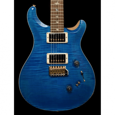 Custom 24/08 Wood Library Limited Edition #236462, Aquamarine Flame