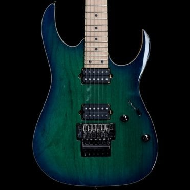 RG652AHM-NGB Nebula Green Burst Prestige Electric Guitar