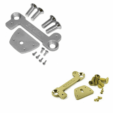 Les Paul V7 Bigsby Vibrato Adaptor Kit (Gold / Aluminum)