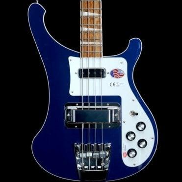 4003 Midnight Blue Electric Bass Guitar #17-12716