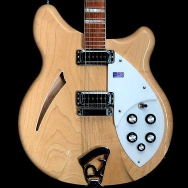 360/6 in Mapleglo, Pre Owned Semi Hollowbody Electric Guitar