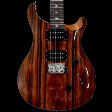 Exotic Limited Custom 24 Electric Guitar, Ebony