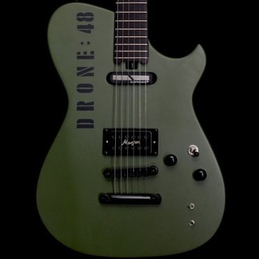 DR-1 S Electric Guitar Drone '48' With Sustainiac Neck Pickup