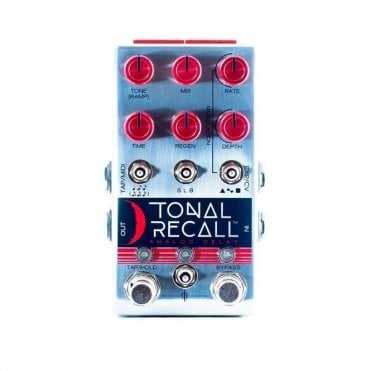 Tonal Recall Analog Delay Red Knob Mod