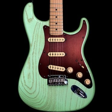American Rustic Ash FSR Stratocaster in Surf Green, Pre Owned