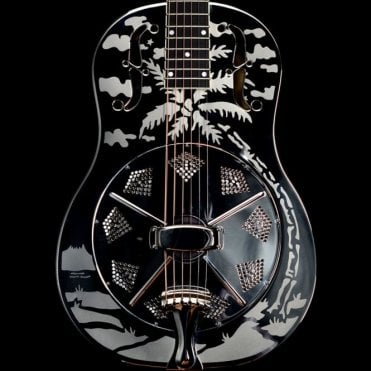 Resophonic Style O Steel Resonator Guitar, Pre-Owned