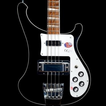 4003 Electric Bass Guitar, Jetglo - 2017 Model #17-1721713