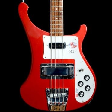 4003s Electric Bass Guitar, Ruby - 2017 Model #17 1720791