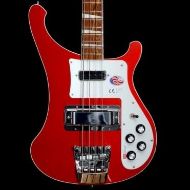 4003 Electric Bass Guitar, Ruby - 2017 Model #17-1711746