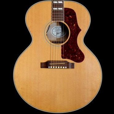 2007 J-185 Electro-Acoustic Guitar w/ Flame Maple Back and Sides, Antique Natural