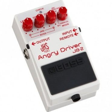 JB-2 Angry Driver Effects Pedal (JHS Angry Charlie + Boss BD-2) PRE-ORDER