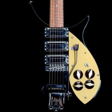 Rickenbacker 325c58 Electric Guitar with Tremolo, Jetglo